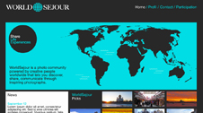 WorldSejour, Identit?, Web Design